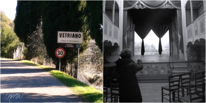 The world's smallest theater in Tuscany