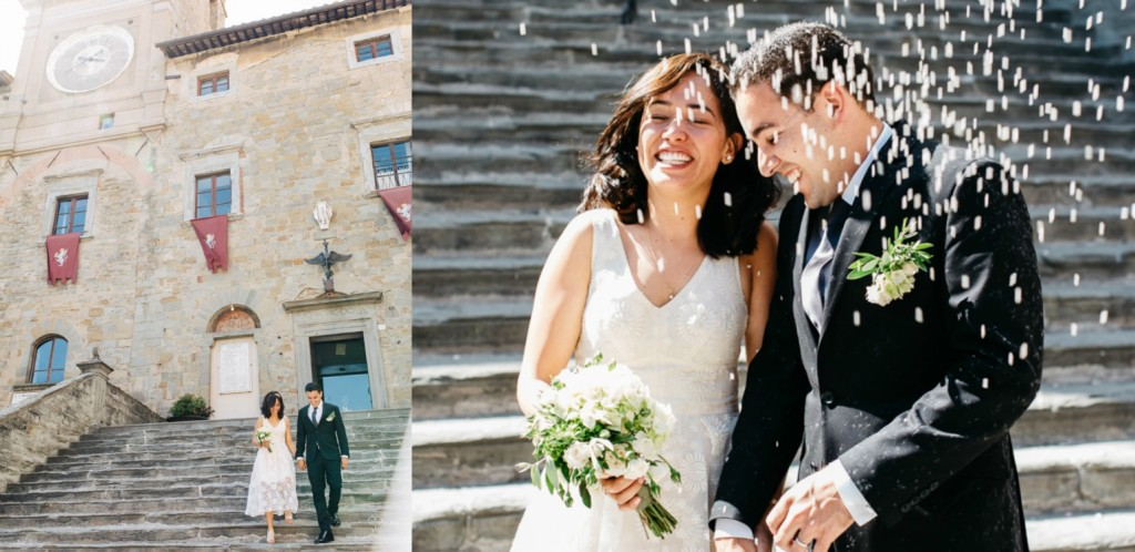 Rather than splurge on a wedding reception and ceremony, you have decided to dedicate the most intimate and precious moments of your life together to each other here in Italy, the land of love, romance and eternal beauty.