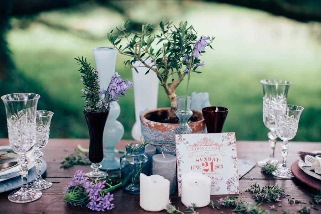 Tuscany-Italian garden wedding ideas