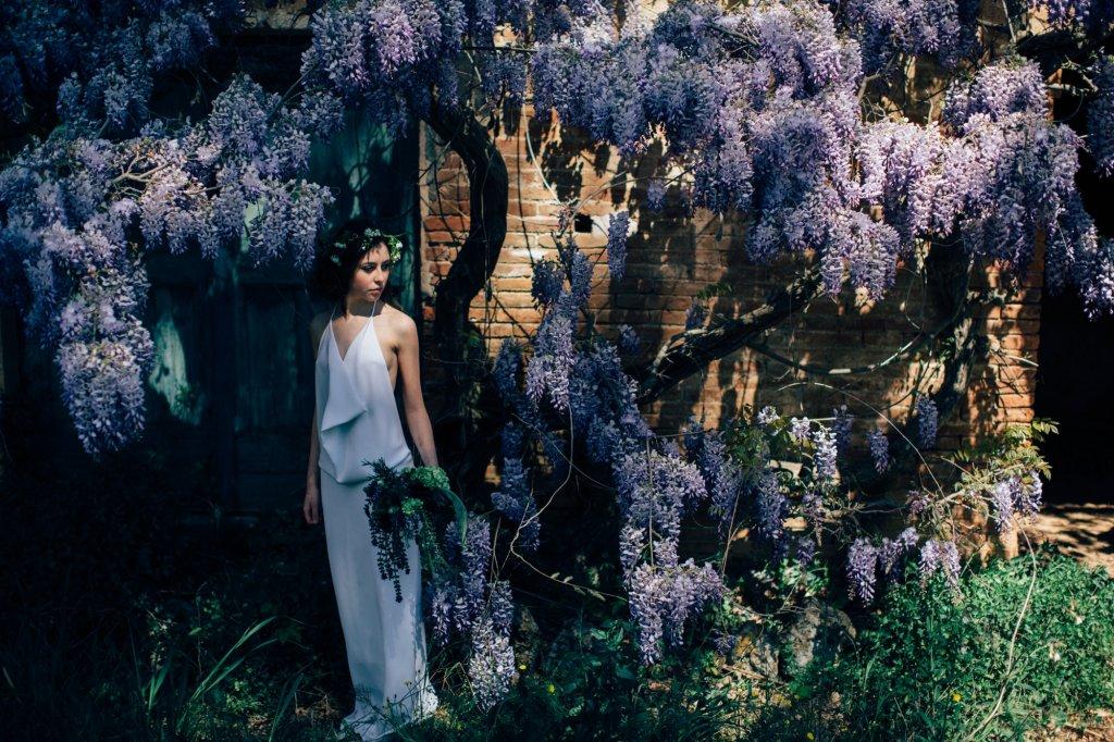 Dreamy garden wedding inspiration in Tuscany