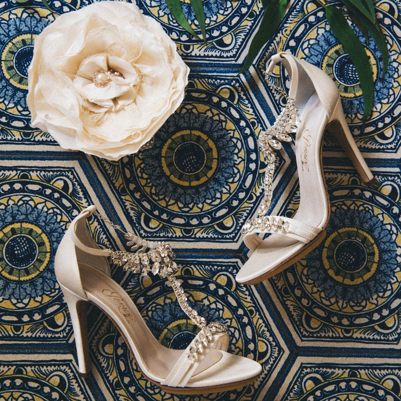 Bridal shoes made in Italy - Penrose