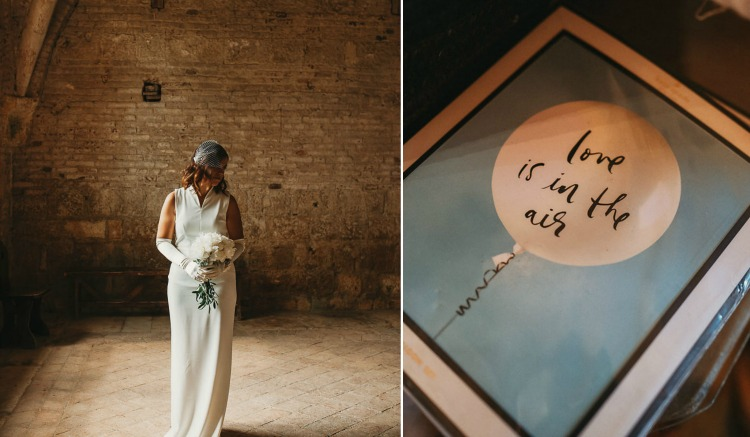 Love is in the air - Tuscan wedding in San Galgano Abbey