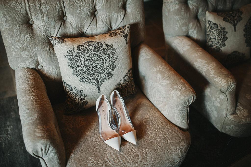 Classy interiores at Borgo Santo Pietro in Tuscany - wedding details