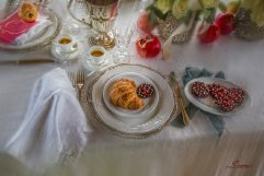 Styling a wedding reception in Tuscany with Pomegranates