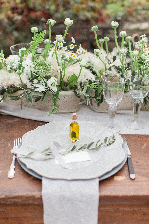Organic Wedding Styling Inspiration from Tuscany