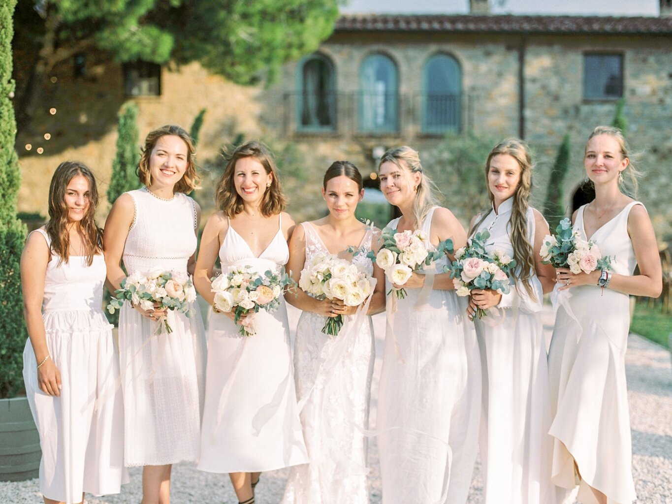 bridesmaids - Italian weddings by Natalia